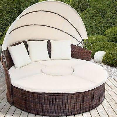Rattan Day Bed Garden Furniture ...