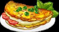 Recipe-Cheddar Omelette