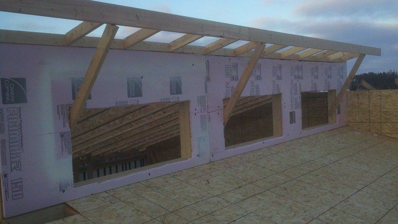 Clerestory construction