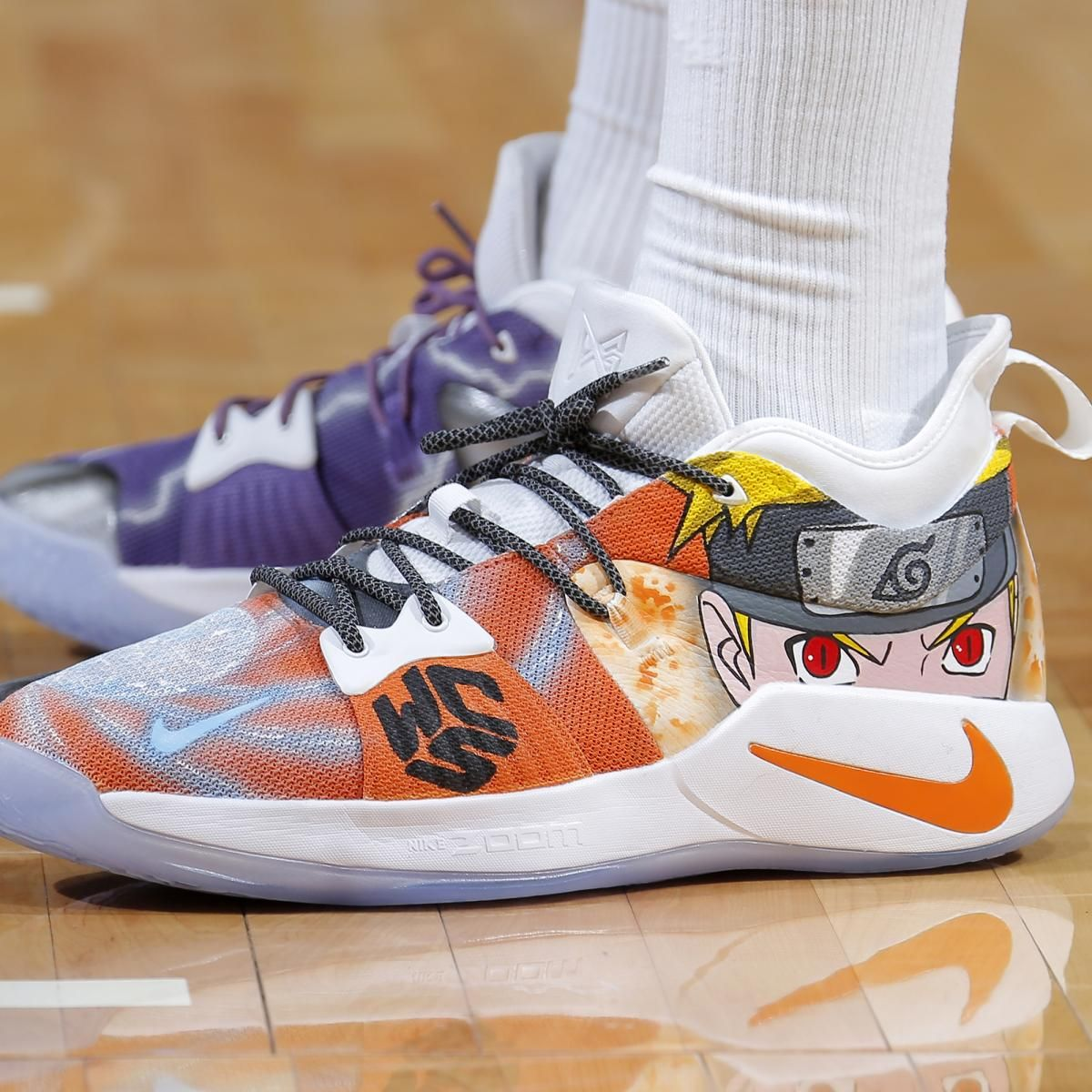 0a1fced65f0 B/R Kicks x NBA Nightly: Cauley-Stein with Naruto Custom, New LeBron 16 for  LBJ | Bleacher Report | Latest News, Videos and Highlights