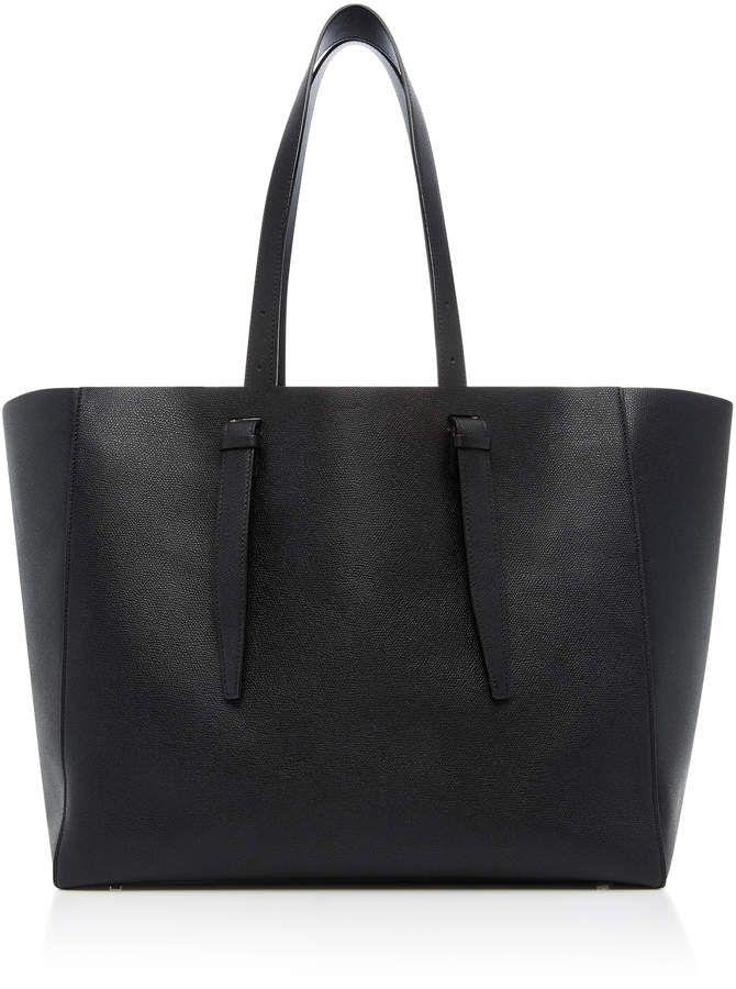 Soft XL Leather Tote Valextra lSOzZowB