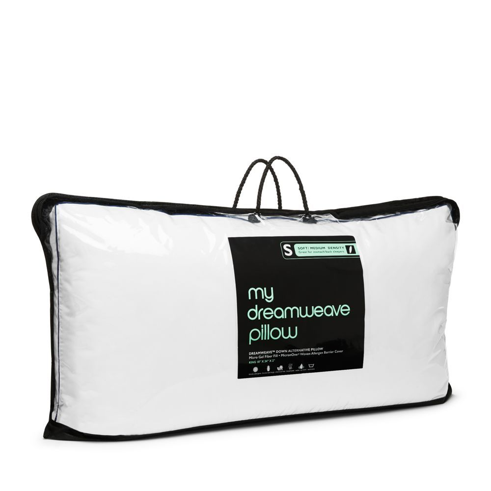 My Dreamweave Down Alternative Soft/Medium Density Pillow, King - 100% Exclusive