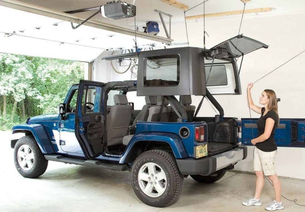 Top 11 Best Jeep Hardtop Hoists 2019 Toolz View Jeep Hardtop