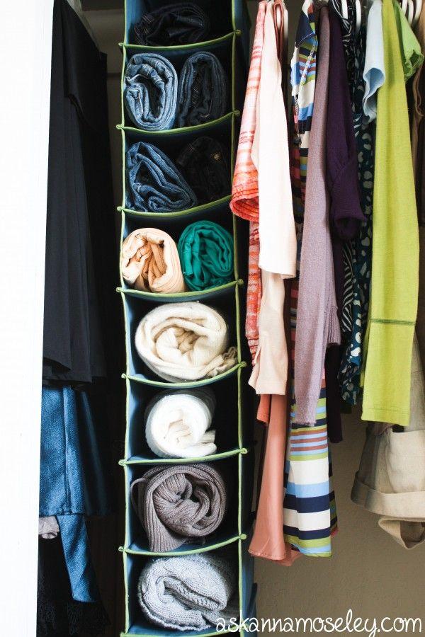 Closet Solutions How To Organize Sweaters Ask Anna No Closet