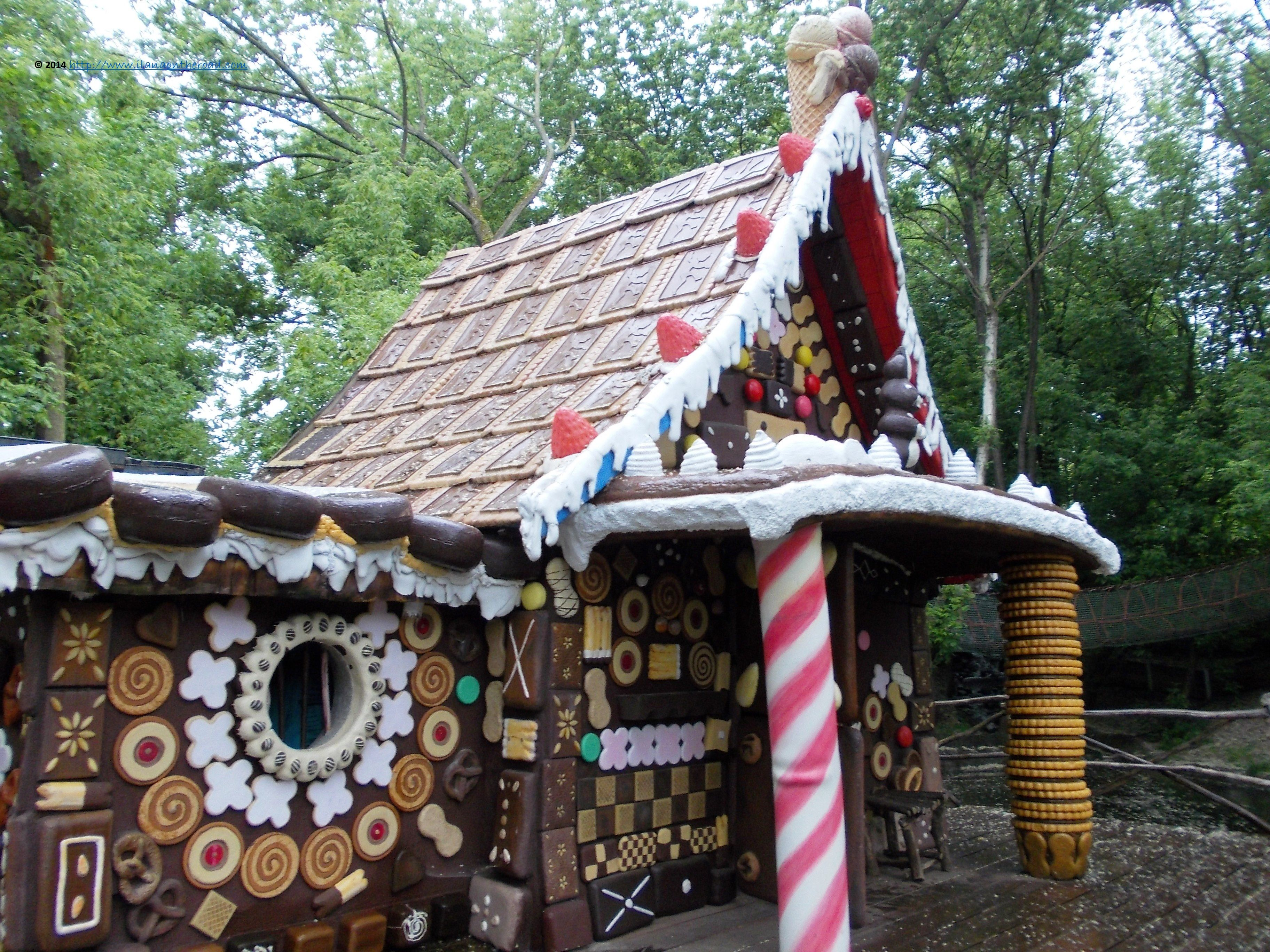 Witch S Cottage From Hansel And Gretel The House Is The Original Set From The German Movie Adaptation T Fairytale Decor Candy House Hansel And Gretel House