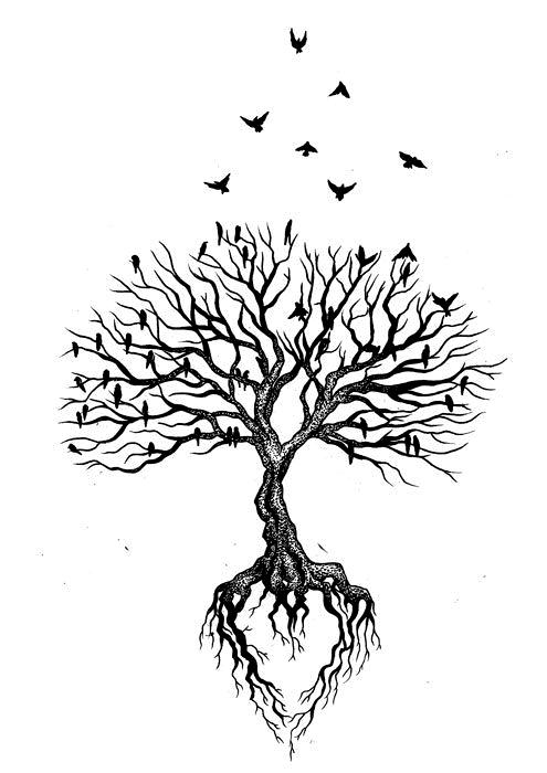 #ideen #tree tattoo #Über #und #von #zeichnen #zum