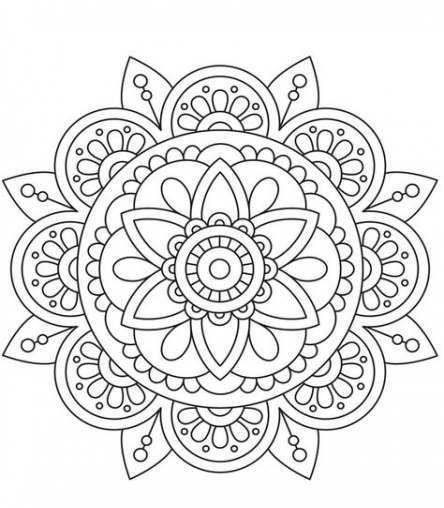 31 Ideas For Drawing Ideas Mandalas Art Therapy Drawing Mandala Coloring Pages Mandala Design Pattern Mandala Design Art