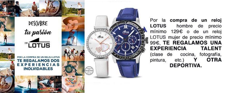 bc16a5d87e75 Colección Relojes Lotus