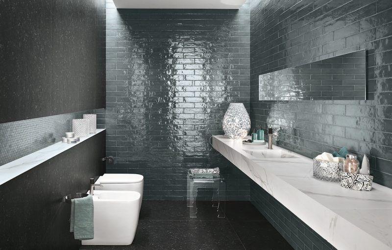 Le piastrelle vintage di fap ceramiche bathrooms