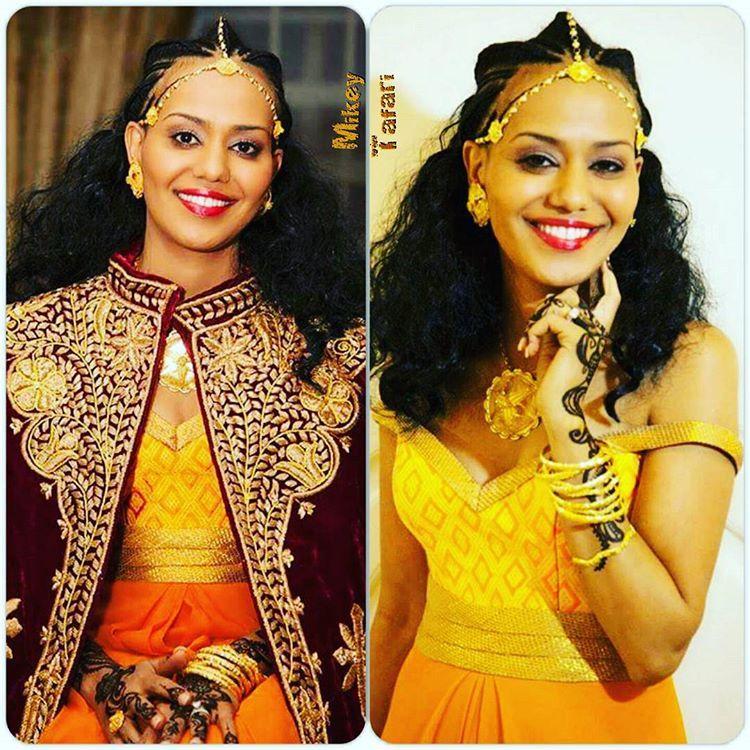 Wedding Hairstyles Ethiopian: Ethiopian & Eritrean Traditional Wedding Melse (on A 2nd
