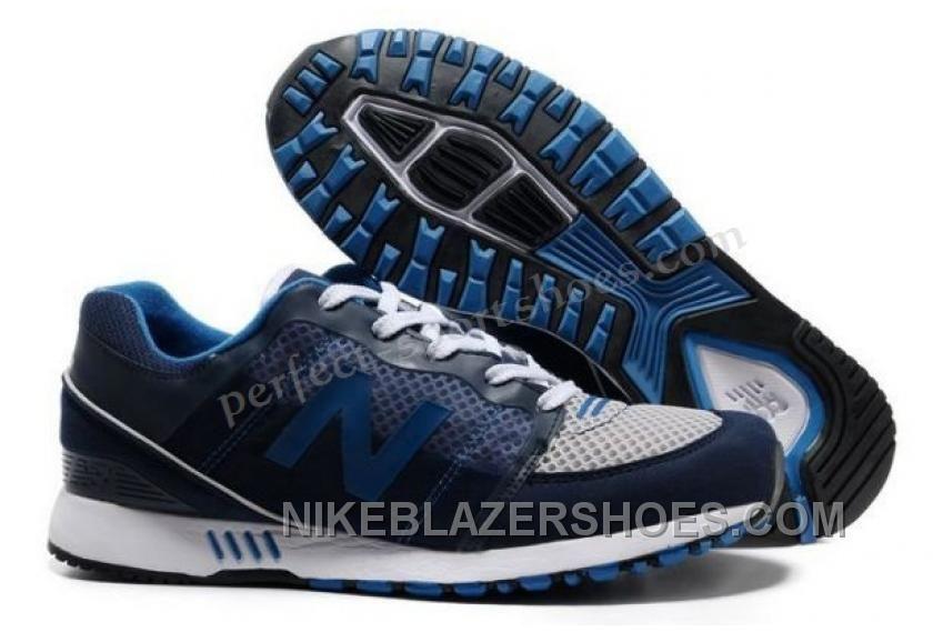Sale Cheap New Balance NB 751 deep Blue White mesh running shoes Newest Now