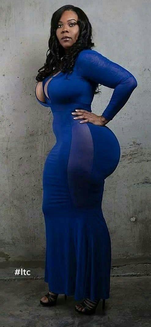 women Busty young black