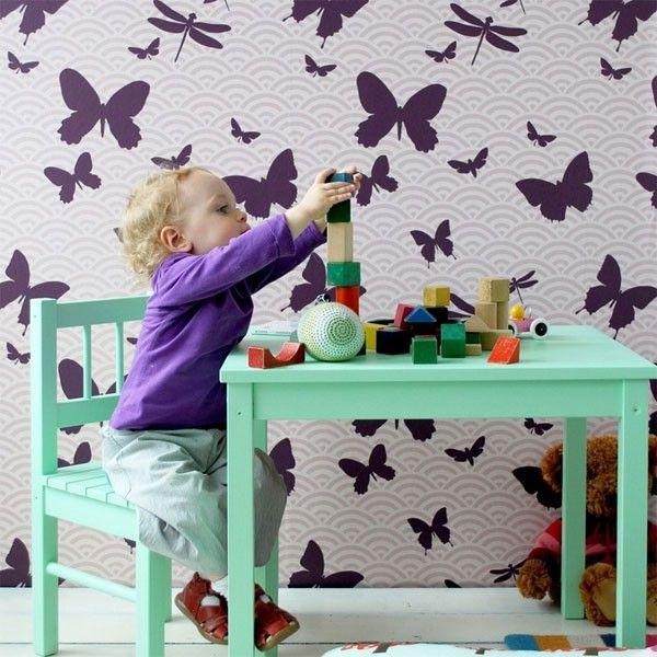 Ferm Living Butterflies behang | FLINDERS verzendt gratis