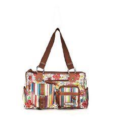 Floral Satchel Handbag from Unionbay. (my summer bag)