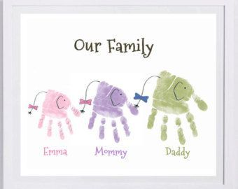 Baby Footprint Art Forever Prints Hand And Footprint Keepsake For Kids Or Baby Mothers Baby Footprint Art Forever Prints hand and footprint keepsake for kids or baby Moth...