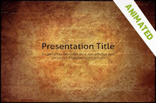 Free Vintage PowerPoint Template | Sharring, Scrapbooks and