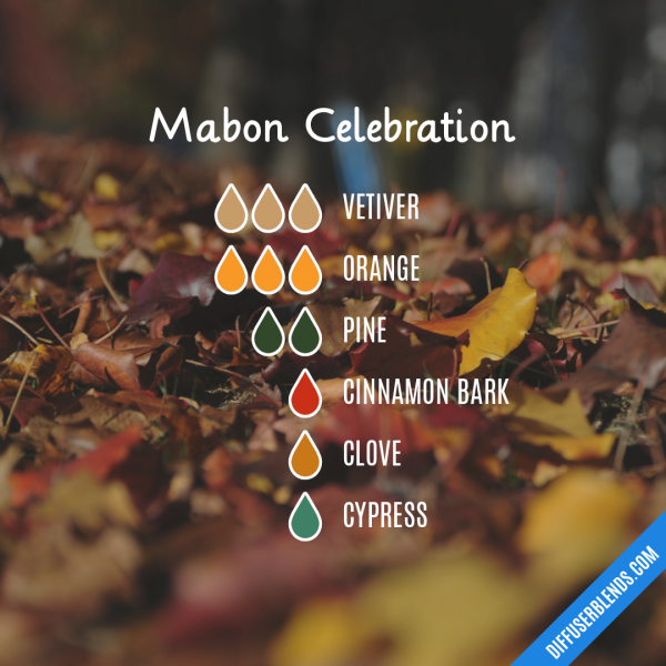 Mabon Celebration - Essential Oil Diffuser Blend #naturalhealthtips #maboncelebration