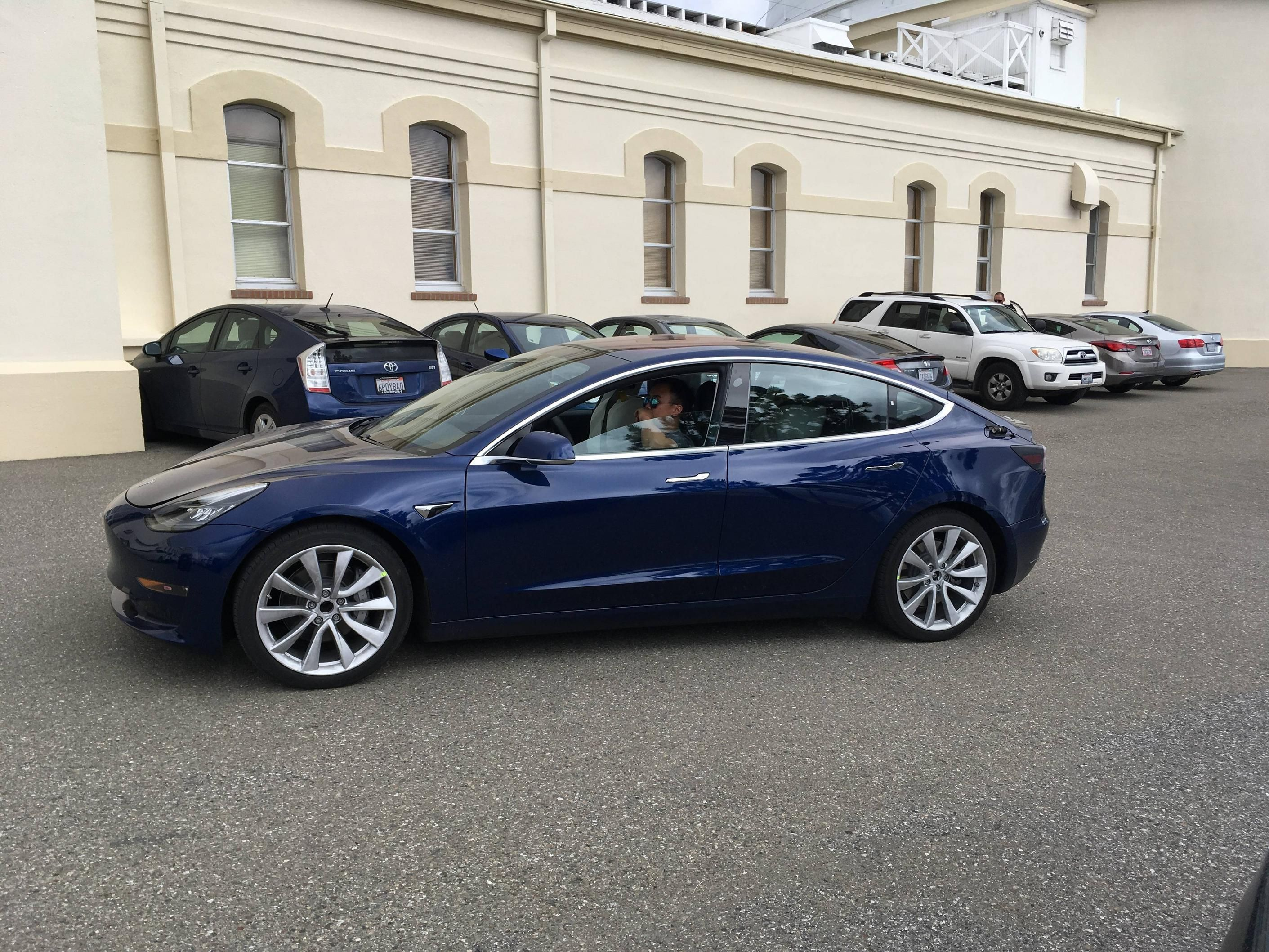 Tesla Model 3 Blue Tesla Tesla Model Tesla Car