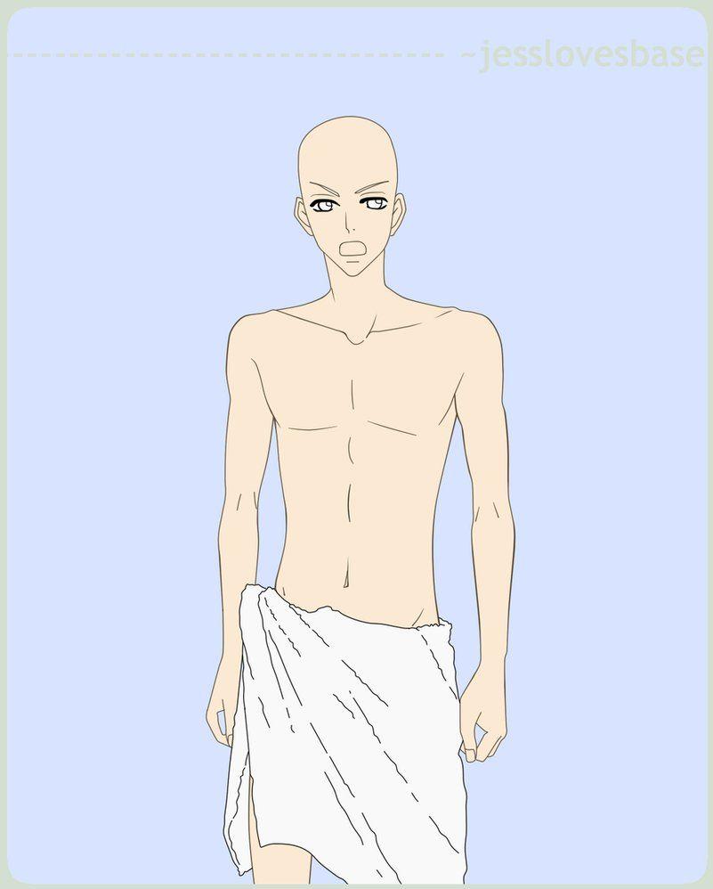 Anime bases male base no 1 by jesslovesbase on deviantart