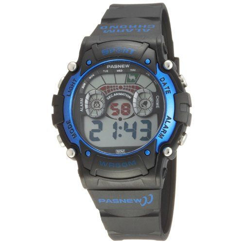 b7e3c86c5 Cool LED Waterproof Sports Wrist Digital Watches for Teens Guys Boys Blue *  Read more reviews of the product by visiting the link on the image.