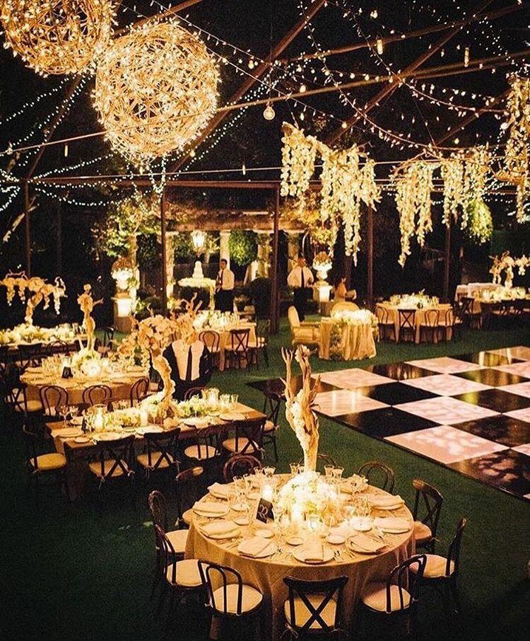 Wedding Outdoor Night