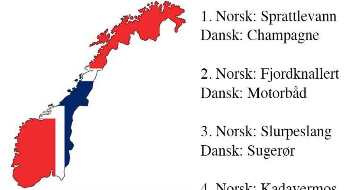 Superliste 45 Norske Ord Som Er Sa Sjove At De Bliver Geniale