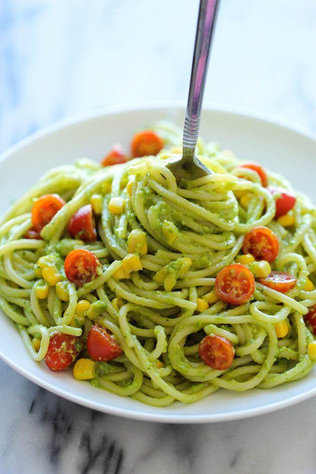 6 Delicious No Cook Pasta Sauce Recipes Cool Mom Eats Vegan Dinners Healthy Pastas Avocado Recipes