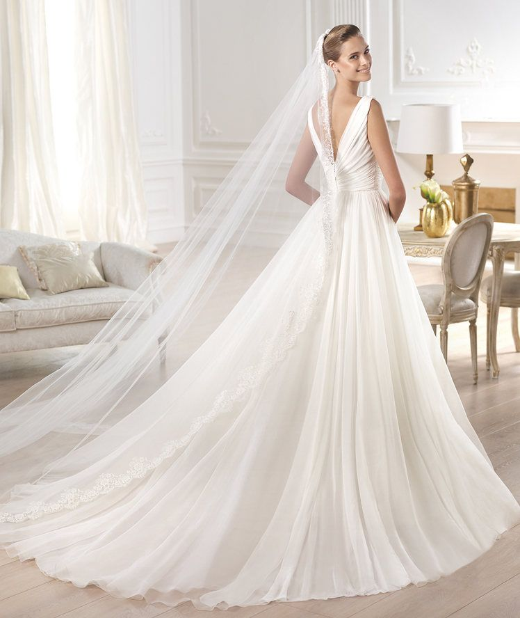 espectacular vestido de corte princesa - pronovias 2015 | wedding