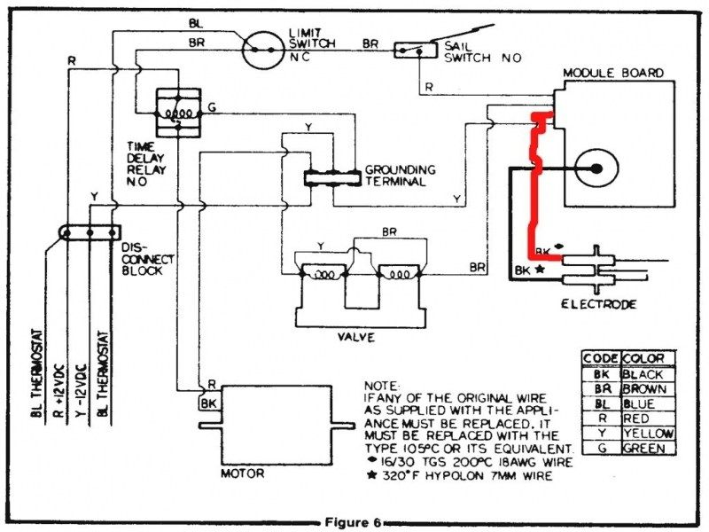 Rheem Thermostat Wiring Diagram from i.pinimg.com