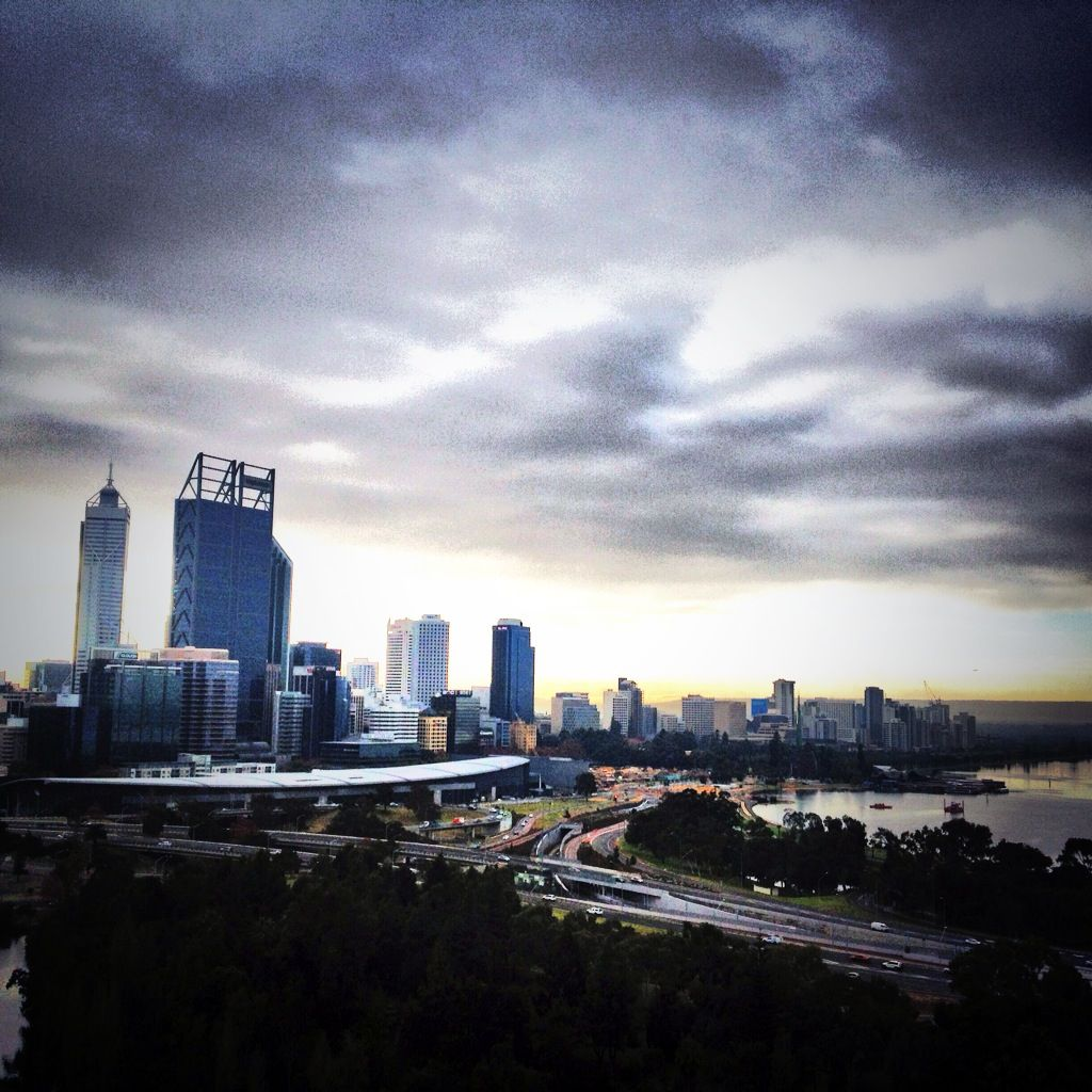 Just another tequila sunrise in Perth