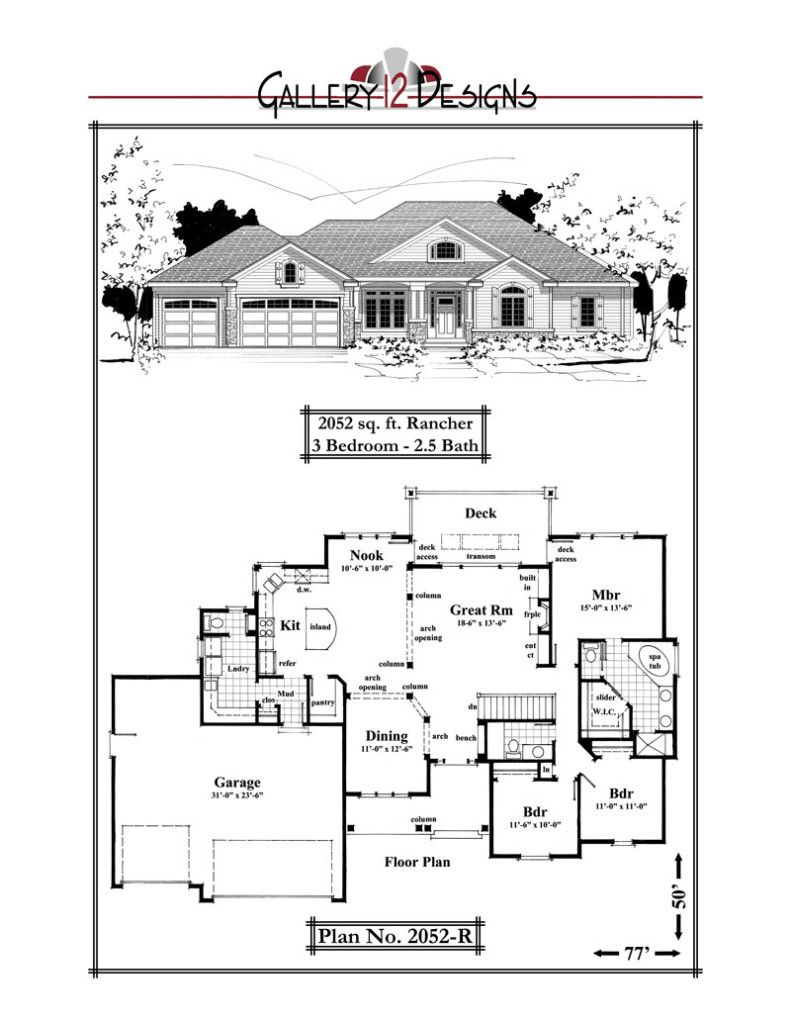 2052 R Luxury House Plans House Plans Small Luxury Homes