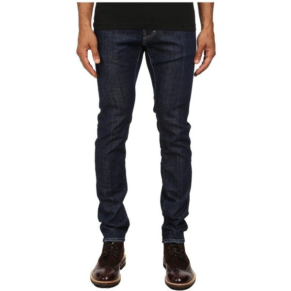 Dsquared2 Mens White Peaks Wash Cool Guy Jeans Blue - Jeans