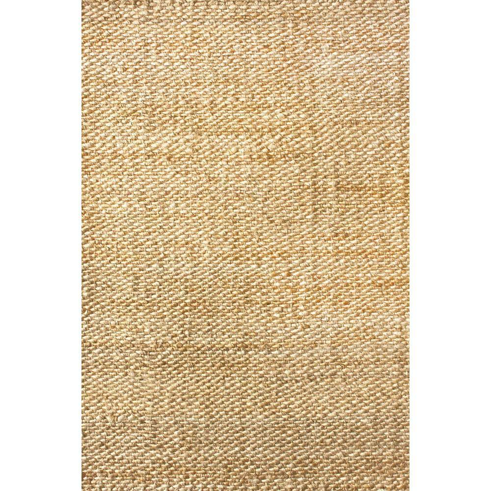 Nuloom Hailey Solid Jute Natural 12 Ft X 15 Ft Area Rug On01a 12015 The Home Depot In 2020 Jute Rug Nuloom Hand Weaving