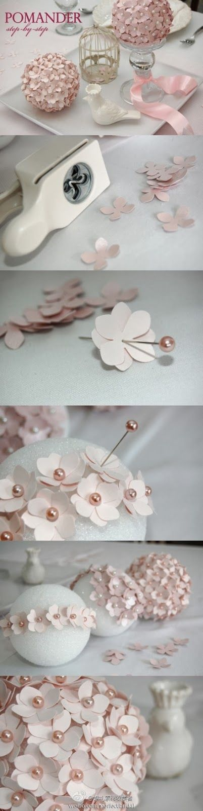 Photo of DIY party decoration flowers