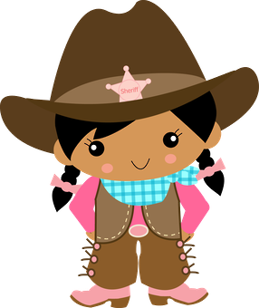 cowboy e cowgirl minus clipart girls pinterest cowboys and rh pinterest ie cowgirl images clip art cowgirl clipart png