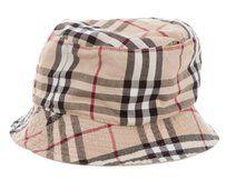 6ee817b7b Burberry Beige Burberry Nova Check plaid reversible bucket hat ...