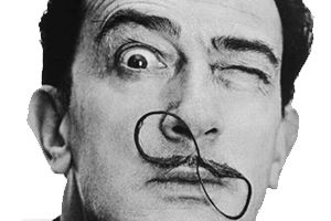 #SalvadorDali has always had a major impact on my #creativity and profession (being a #creative director).  I have literally surrounded my home with his works and he will always be an influencer in my life.  #dali #art #innovator