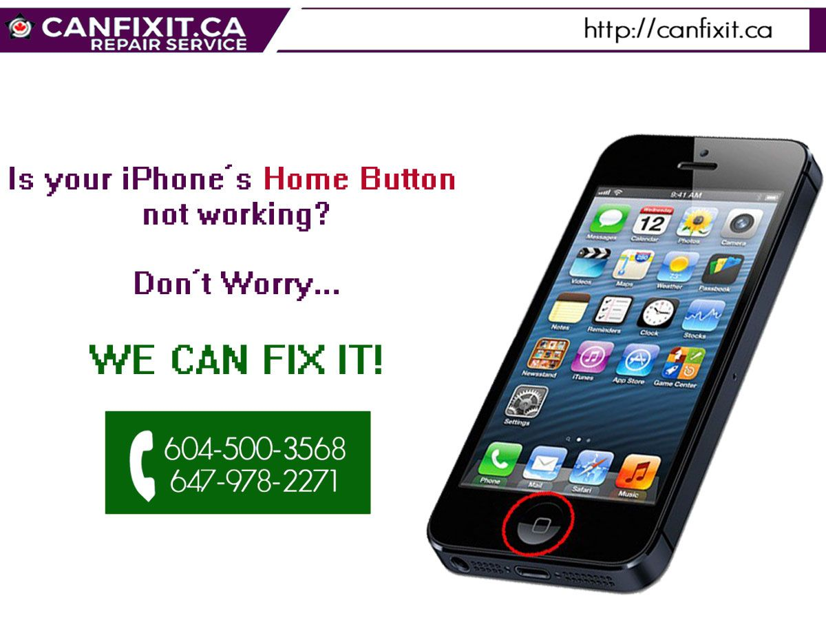Are you facing problem with your iPhonehomebutton? WE CAN