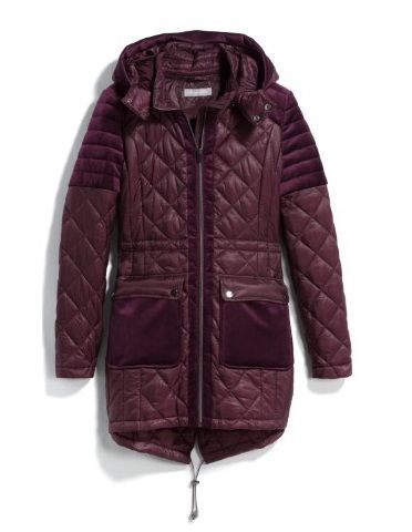 962e05a9af Bagatelle Scout Velvet Trim Puffer Coat $128   Things I Own or Don't ...