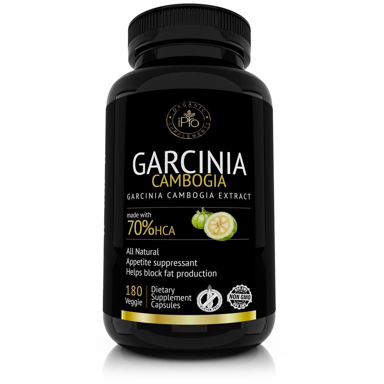 premium garcinia cambogia extract 60 hca 180 capsules