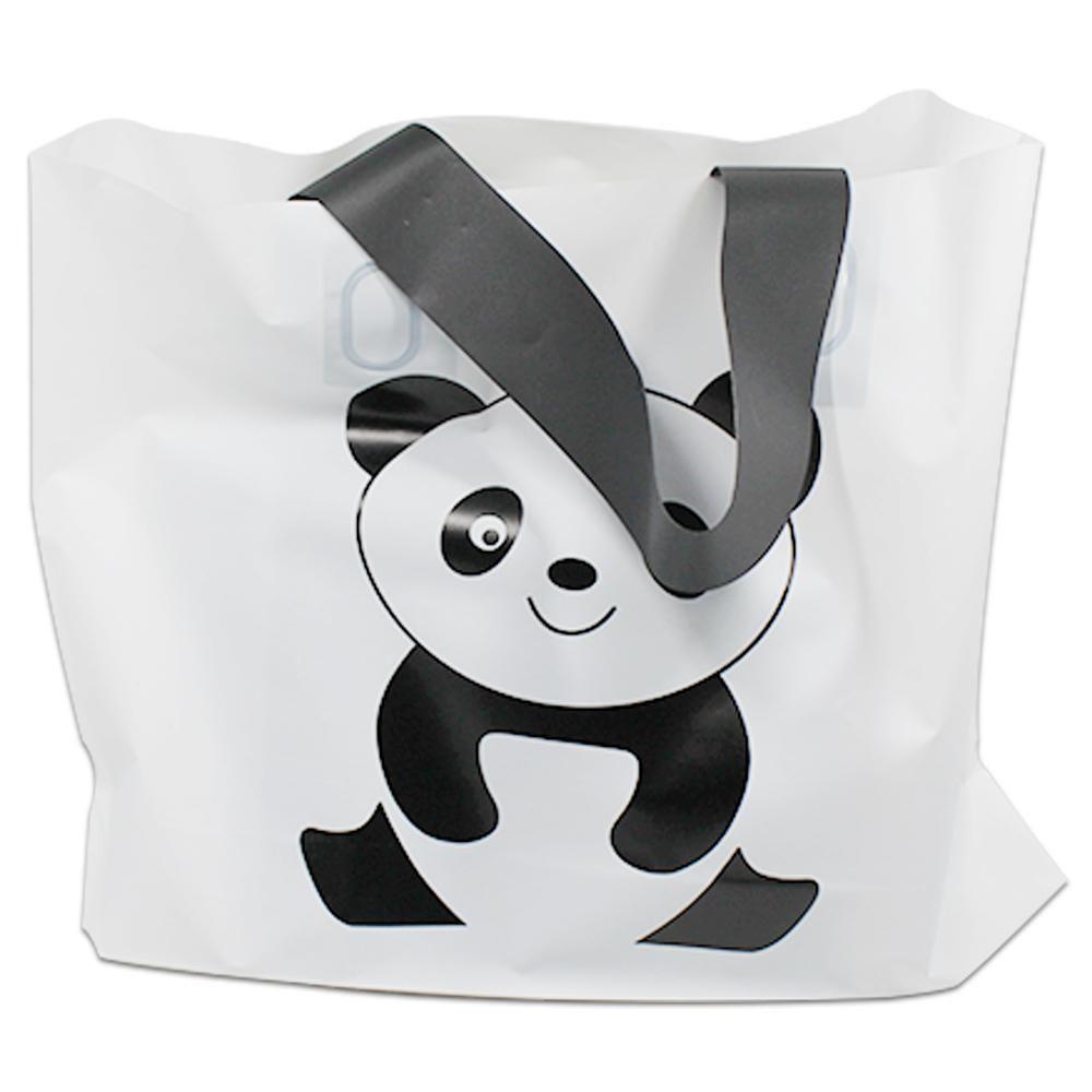 10d1bbe5a5d9d4 Lindas sacolas no tema panda para você colocar lembrancinhas e ...