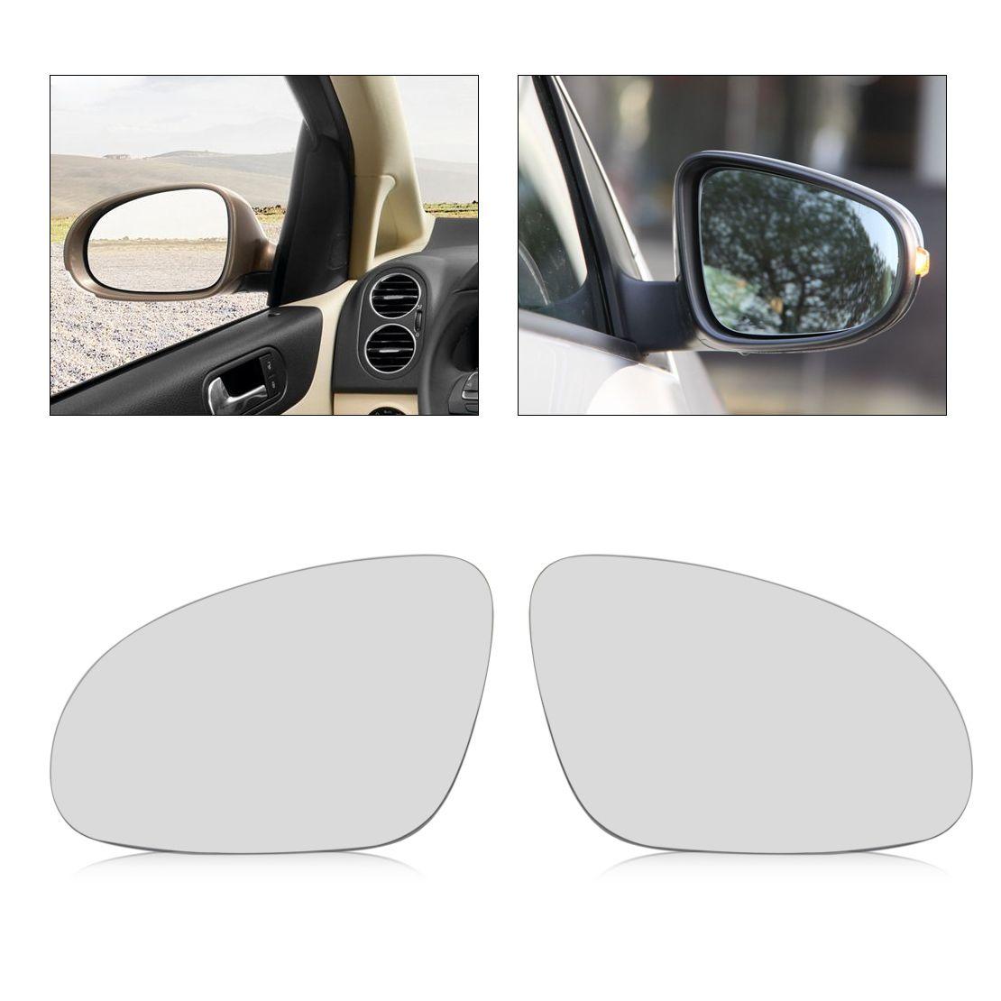 Passenger Side Mirror Replacement Glass for VW EOS GTI Jetta Passat R32 Rabbit