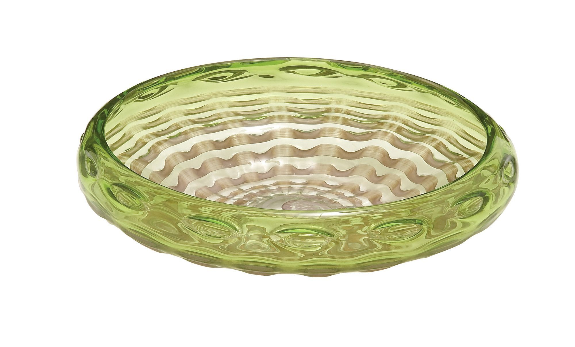 Customary Styled Glass Decorative Bowl Decorative Bowls Green Bowl Bowl
