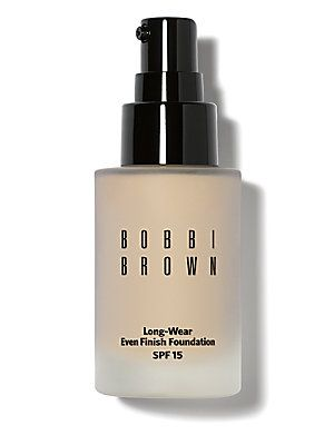 What's in your cosmetic bag?  Bobbi Brown Long-Wear Even Finish Foundation SPF 15/1 oz. #bobbibrown