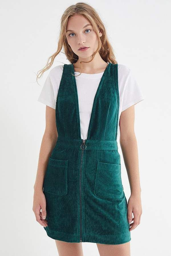 6ec6efb64 Moon River Plunging Corduroy Pinafore Dress in 2019 | Products ...