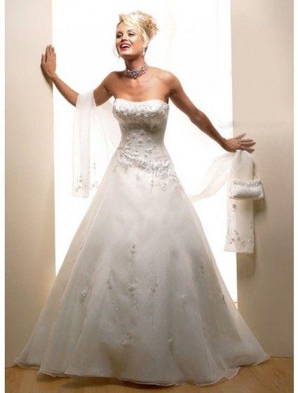 Robe de mariage champêtre pas cher 2012 -