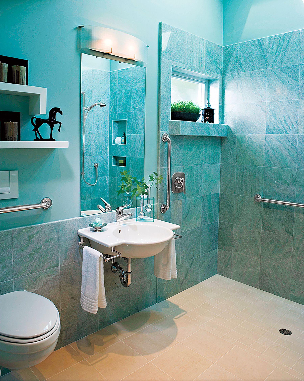 Read This Before You Redo a Bath   Wall stud, Bath and Handicap bathroom