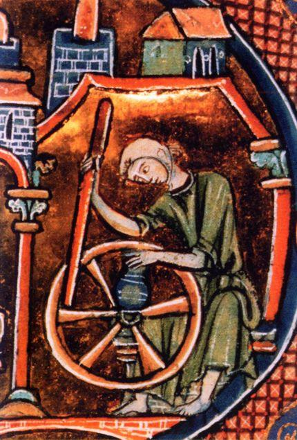 """Résultat de recherche d'images pour """"potier médiéval enluminure"""""""
