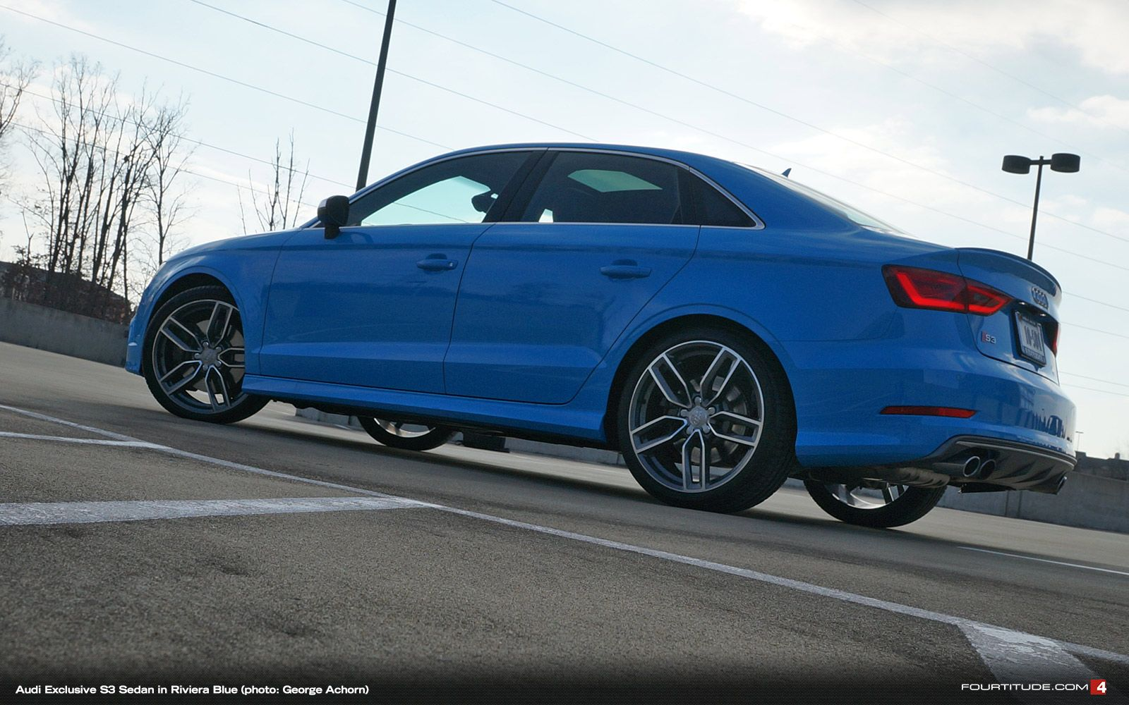 Audi Exclusive S3 Sedan In Eye Searing Riviera Blue