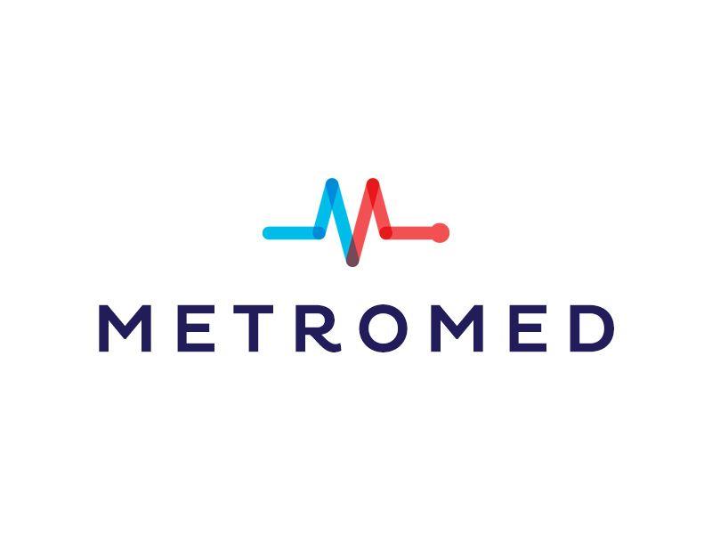 MetroMed | Project Economics | Logo inspiration, Logo design